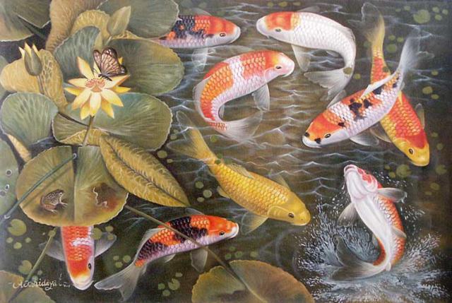 Золотые рыбки, золотые рыбки,