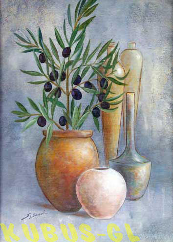 Натюрморт с оливками, оригинал