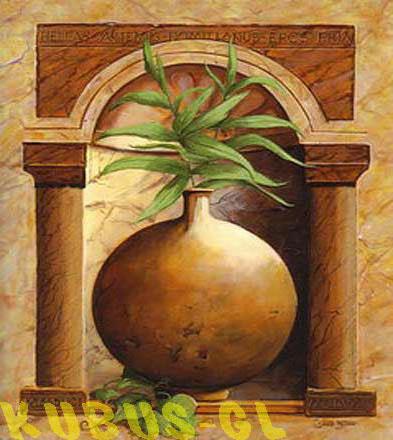 Круглая ваза, оригинал