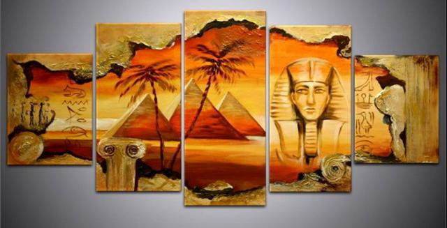 """Триптих """"Египет"""", оригинал"""
