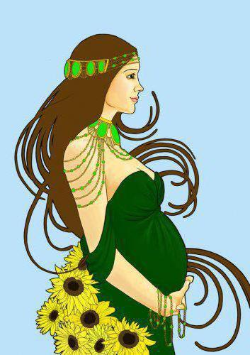 Беременные девушки3, рисунки