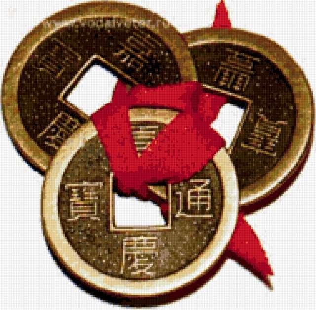 Монеты Фен Шуй, предпросмотр