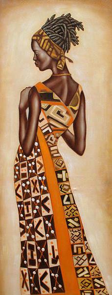 Африканские мотивы, оригинал