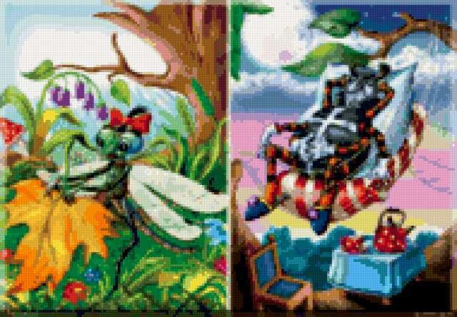 Муха-цокотуха, предпросмотр