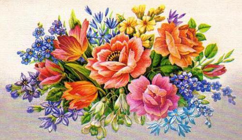 Роскошный букет, розы, цветы,