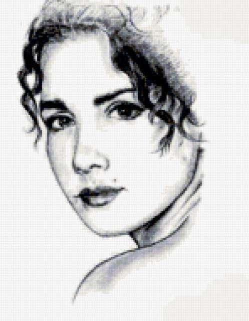 Наталья Орейро, рисунок