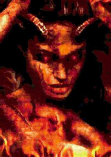 Дьяволица, фантастика