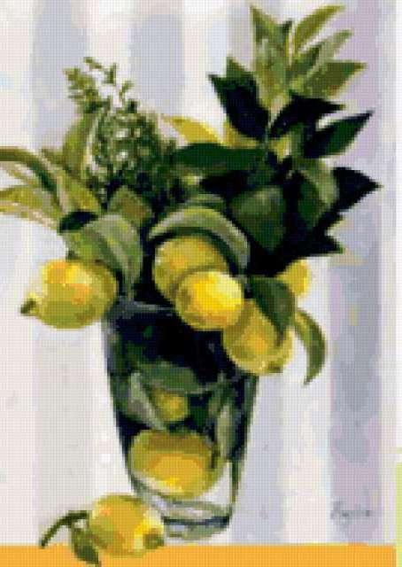 Букет лимонов, предпросмотр