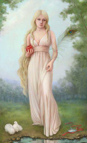 Образ женщины с длин. волосами