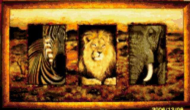 Животные Африки, предпросмотр