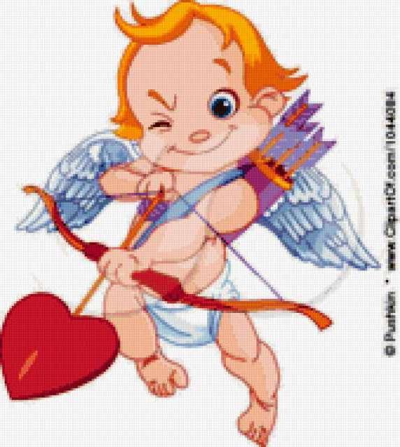 Купидон, ангел, ангелочек