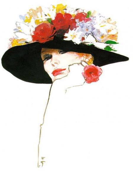 девушка в шляпке, девушка,