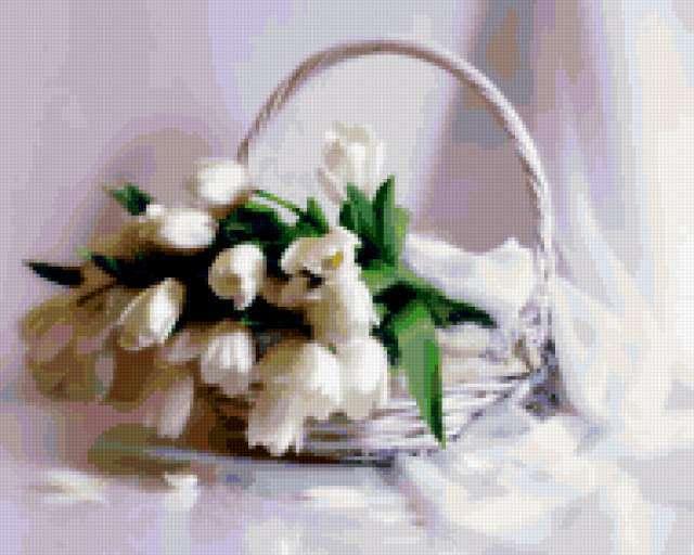 Белый натюрморт, предпросмотр