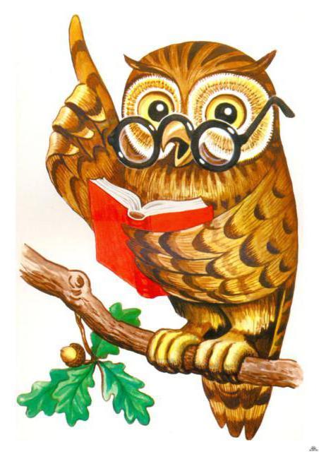 Картинки сова с указкой