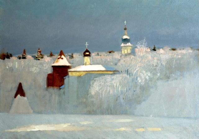 Анохин-русская зима, оригинал