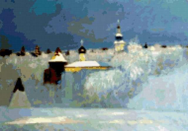 Анохин-русская зима