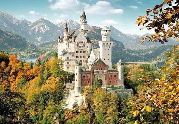 Баварский замок, оригинал