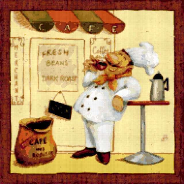 Шеф-повар на рынке 4,