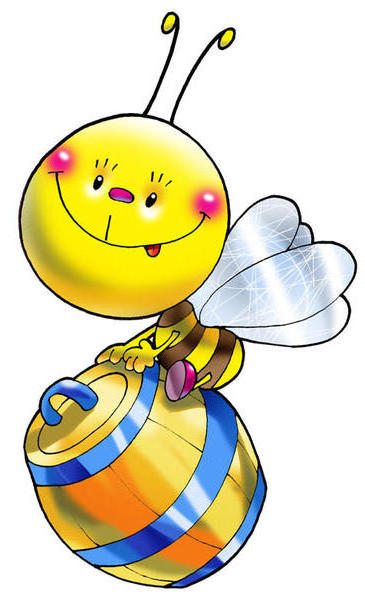 Забавная пчёлка, оригинал