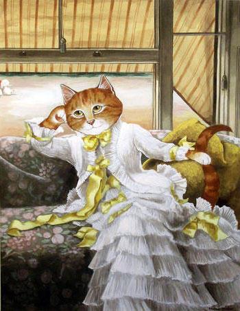 Кошки -дамы, оригинал