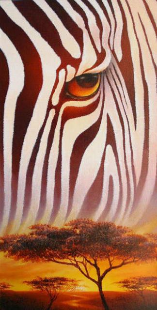 Африка, животные, зебра