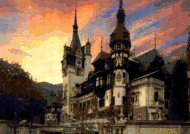 Румыния, замок Пелеш
