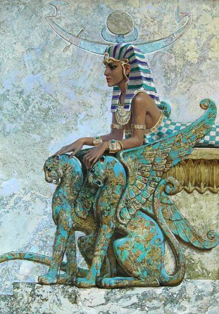 Египетские мотивы,