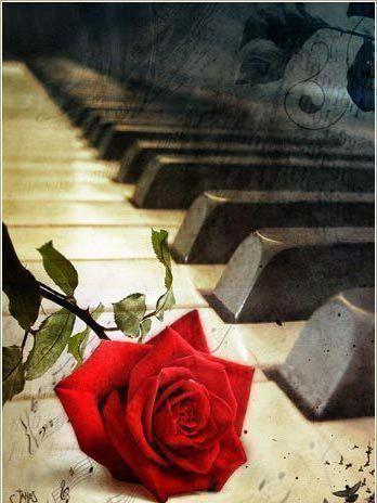 схему вышивки «Пианино и
