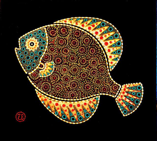 рыбы, африка, мотивы,