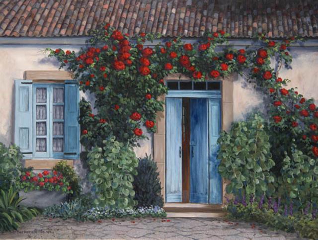 Уютный дворик, дворики, дворик