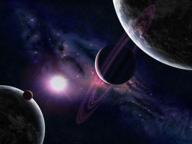 Космос, коллаж, космос