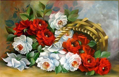 Садовые розы, цветы, букет,