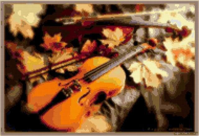Скрипки. осень, предпросмотр