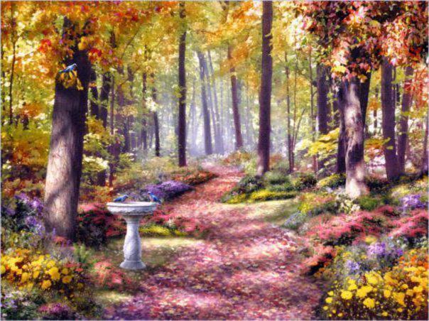 Картина, пейзаж, природа
