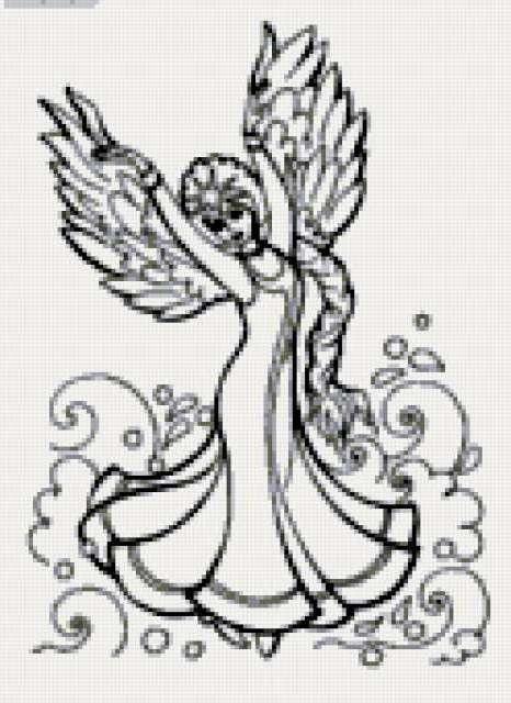 Царевна лебедь, девушка, птица