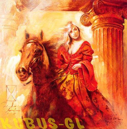 Всадница 1, животные, лошадь,