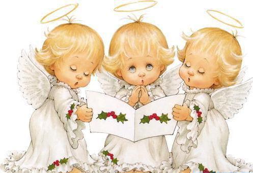 Маленькие ангелочки,