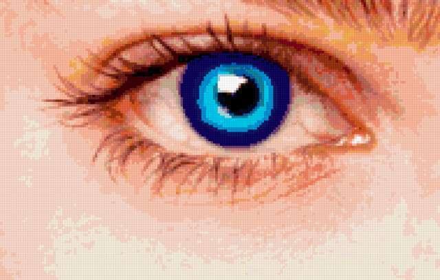 Голубой глаз, предпросмотр