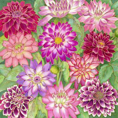 Хризантемы, оригинал