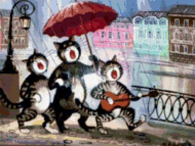 Прикольные коты , предпросмотр