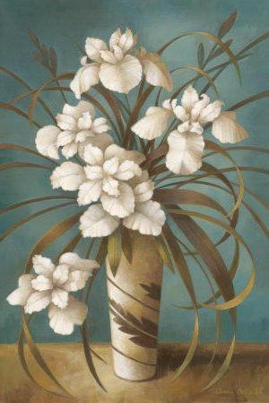 К схеме вышивки «Белые цветы
