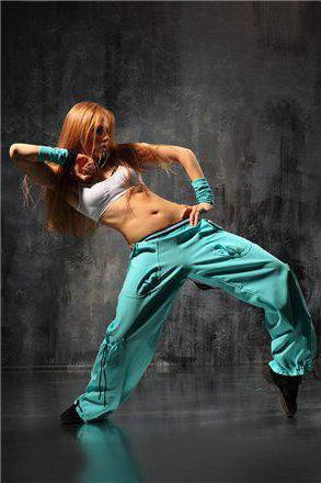 Хип-хоп девушка, оригинал