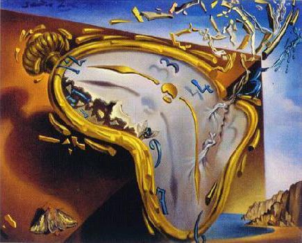 """С. Дали """"Часы"""", картины,"""