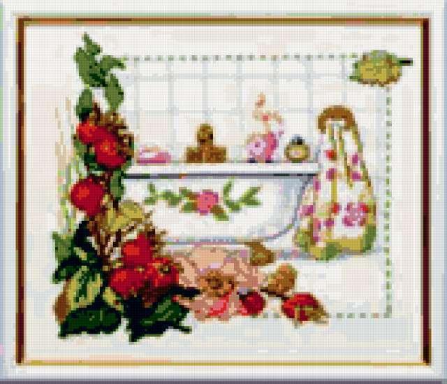 Картина для ванной