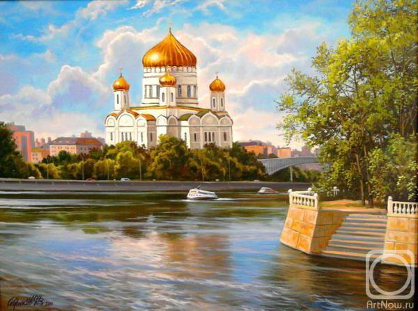 Вид на храм, церковь, храм,