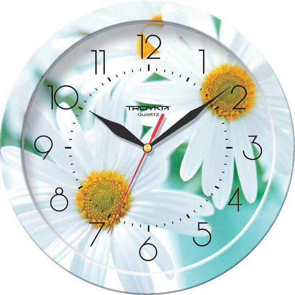 Часы ромашки,