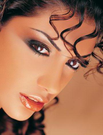 Арабская девушка, оригинал