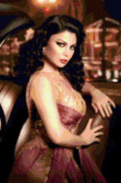 Красавица арабская, девушка