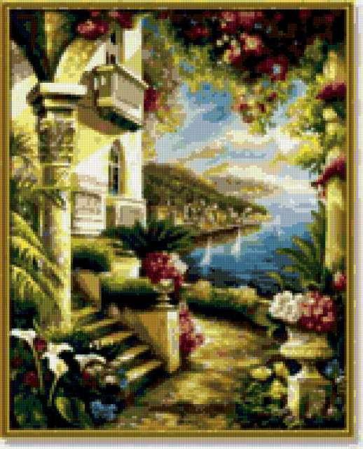 Цветущий сад, предпросмотр