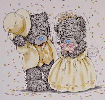 Мишки Тедди. Свадьба, оригинал